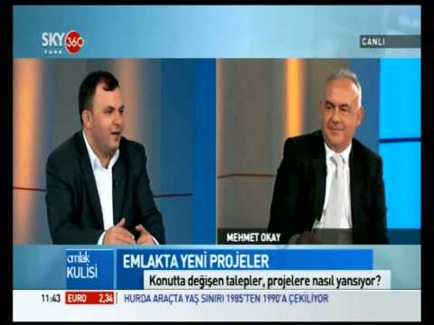 Sky Türk 360 '' Emlak Kulisi '' Programı Bölüm 2