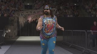 WWE 2K16 Entrances: Dude Love