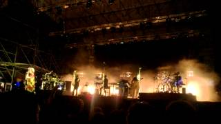 Massive Attack - Teardrop - live in Genova - 11/07/2014
