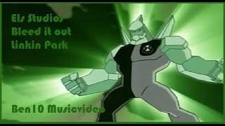 Ben10 Music Video: Linkin Park - Bleed it out