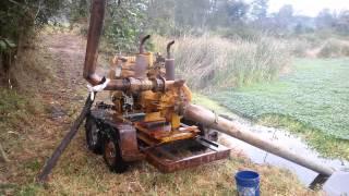 Bomba de Riego Cornell, motor Caterpillar de Venta 3