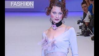 ANNA MOLINARI - BLUMARINE Fall 1993 Milan - Fashion Channel
