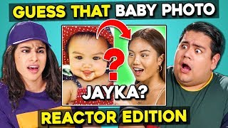 Can YOU Guess That Reactor's Baby Photo? #2   FBE Staff React