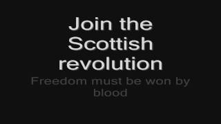 Sabaton - Blood Of Bannockburn (lyrics) HD