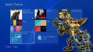 How To Use New Custom Wallpapers PS4 4.50!