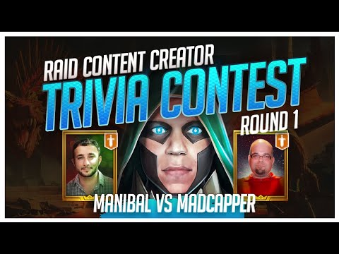 RAID | Trivia Contest | R1 | Manibal vs MadCapper!