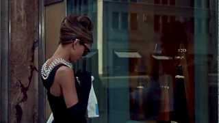 Audrey Hepburn Breakfast at Tiffany's tribute