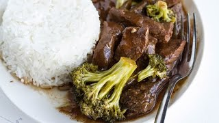 Slow-Cooker Beef and Broccoli