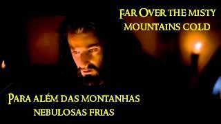The hobbit theme song Misty Mountain lyrics-Musica tema o hobbit Montanhas nebulosas