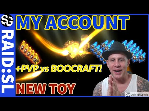 RAID SHADOW LEGENDS | SACRED SUMMONS | MY ACCOUNT | PVP VS BOOCRAFT