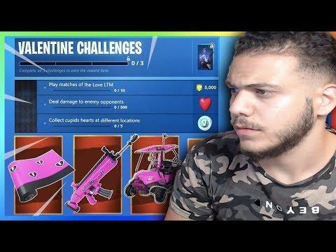 Fortnite Seizoen 5 Week 4 Challenges