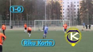Harjoitusottelu: KooTee - PoNU BK (24.4.2010/ Ahvenisjärven kenttä)