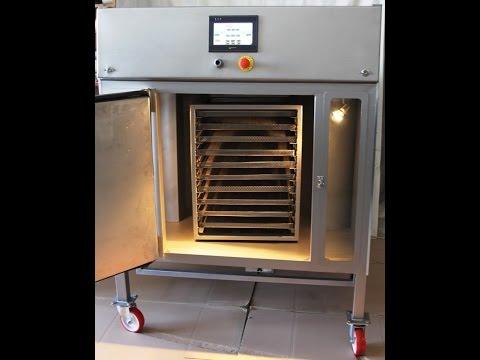 laboratuar tipi tepsili kurutma makinesi.wmv