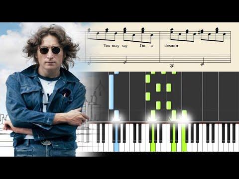 Comment jouer le morceau Imagine de John Lennon au piano
