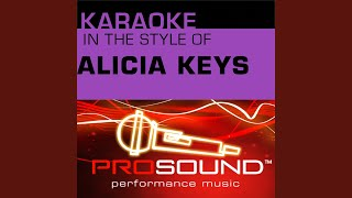 If I Ain't Got You (Karaoke With Background Vocals) (In the style of Alicia Keys)