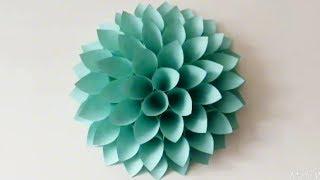 Cara Membuat Bunga Untuk Hiasan Dinding width=