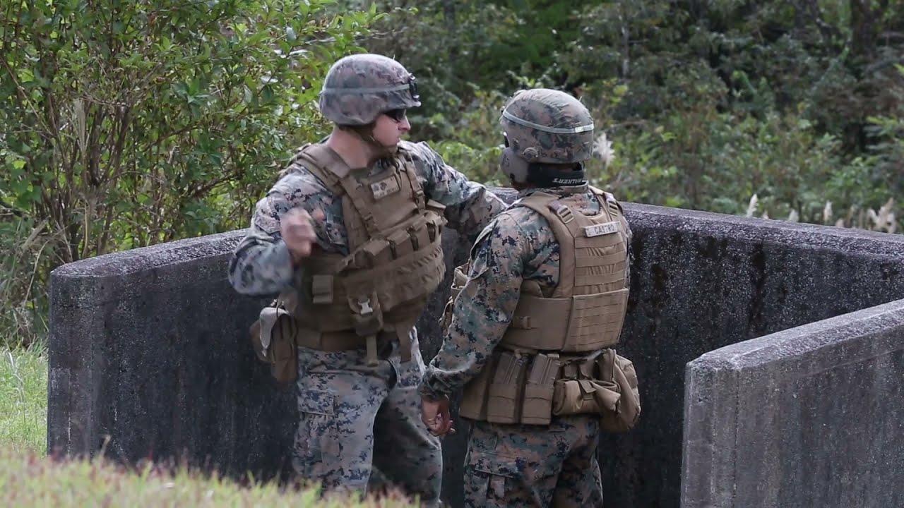 U.S. Marines • Hand Grenade Training • Exercise Fuji Viper 20-1 on Camp Fuji, Japan