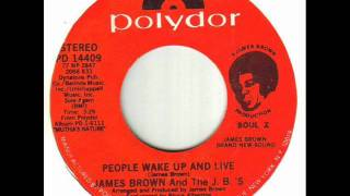 James Brown And The J B 's People Wake Up And Live