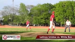 Latinos Unidos vs. Sox Benito Juarez Baseball League