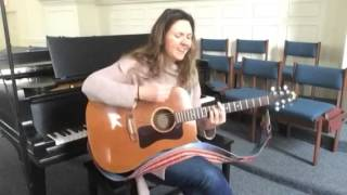 """Jen DiMarzio covering Trigger Hippy """"Rise Up Singing"""""""