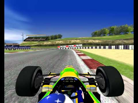 Kyalami ZA SA south africa F1 1992 Formula uno Mod year Season F1C Racing simulation by Cherry appropriate credit is given to the respective authors and David Marques F1 Challenge 99 02 2011 09 03 16 31 35 39 17