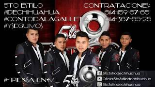 Piensa en mi (Grupo mojado-Cover) - 5to Estilo