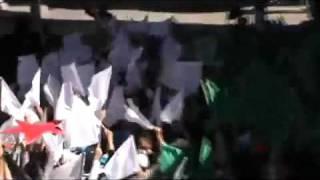Siria - Homs - 21/10/2011 - Manifestazione contro il regime di Assad e solidarietà alla Libia