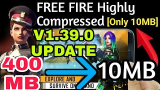 FREE FIRE V1.39.0 Update Apk+Obb File Highly Compressed | Download failed because WiFi disabled