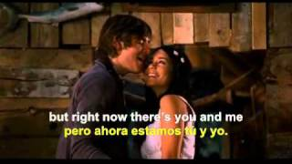 Right here, Right now -High School Musical 3 (english - spanish lyrics)