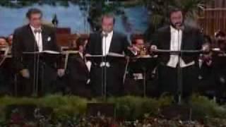Pavarotti Domingo Carreras - Brasil - Brasil - live