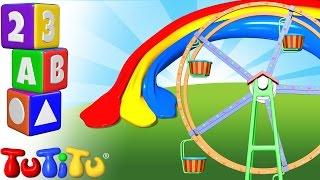 TuTiTu Pré-escolar | Aprender de cores em Inglês para Crianças | Cores de Roda-gigante
