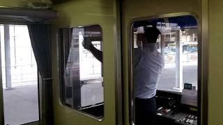 Driver Handover on Keikyū Line, Japan. 11th Oct 2011
