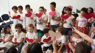 """Hino """"O Semeador"""" - Apresentação das Crianças 1"""