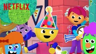 Charlie's Colorforms City: Season 1   Official Trailer [HD]   Netflix Jr