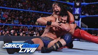Tye Dillinger vs. Shinsuke Nakamura: SmackDown LIVE, May 29, 2018