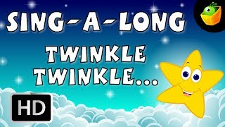 Karaoke: Twinkle Twinkle Little Star - Songs With Lyrics - Cartoon/Animated Rhymes For Kids