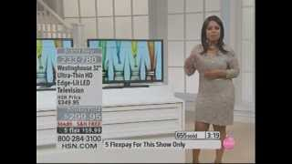 Marlo Smith Tight and Thick Chocolate Legs 12/4/12 HSN