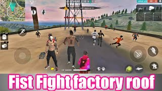 Free Fire Fist Fight - Factory Ke Upar Custom Room | #FreeFire