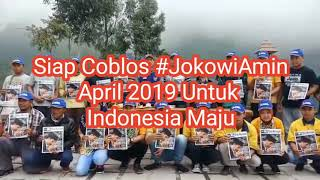 Menggema Deklarasi di Gunung Bromo Siap Coblos #JokowiAmin