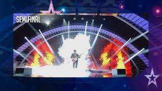 ¡Desastre! Este guitarrista huye del escenario tras un error   Semifinal 3   Got Talent España 2018