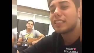Zé Felipe Maquiagem Borrada live Instagram