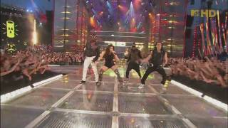 The Black Eyed Peas - Boom Boom Pow ( Live @ Much Music Video Awards ) [HD]