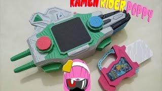 Kamen Rider Poppy - Tokimeki Crisis Gashat/仮面ライダーポップー - ときめきクライシス