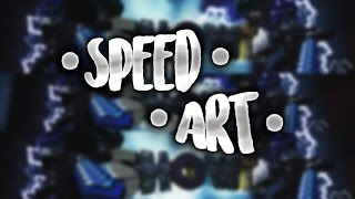 #7 Speed Art | Showz [Duel w/ShowsCreative ]