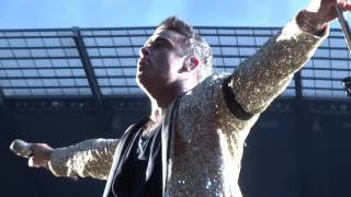 Robbie Williams - Be A Boy - Manchester 21/06/2013