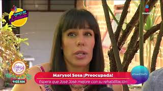 Exclusiva: ¡Marysol Sosa preocupada por José José! | Sale el Sol