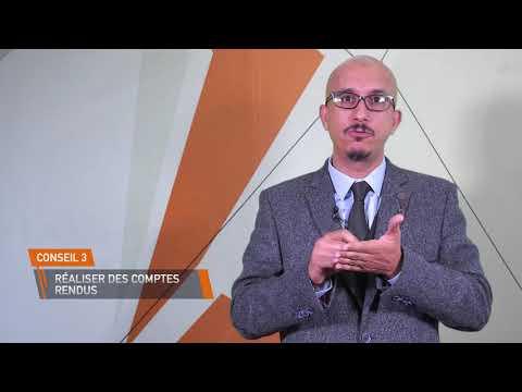 Video : Les cinq conseils pour réussir son stage