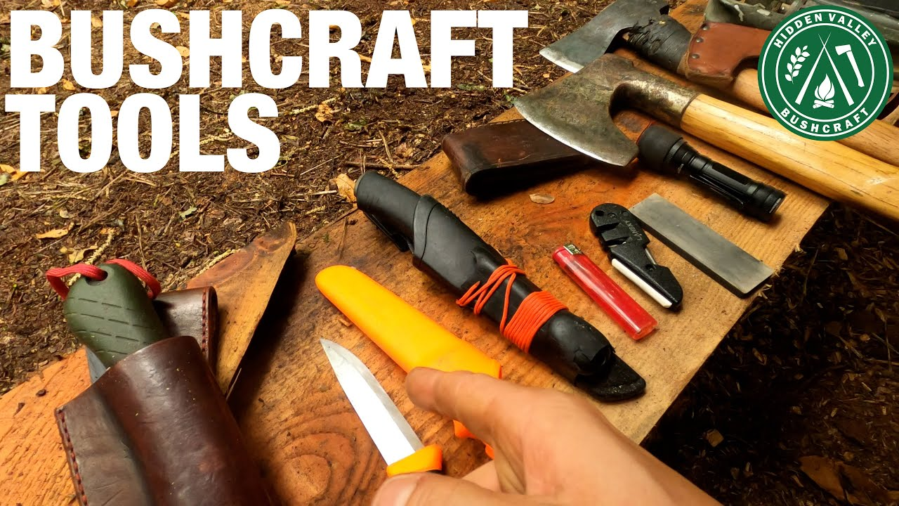 Basic Beginner Bushcraft Tools 2021 – What you need to get Started