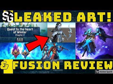 RAID SHADOW LEGENDS | ULTIMATE ELHAIN? LEAKED IMAGES & FUSION REVIEW
