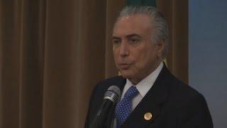 Denuncia de corrupción contra Temer agrava una crisis histórica en Brasil